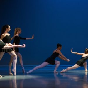 Choreography Project, Divided We Fall, Sarah White, student choreographer