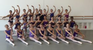 Victoria teaching at HB summer intensive