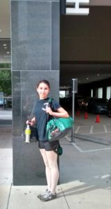 BCH student commuting to Houston Ballet summer intensive